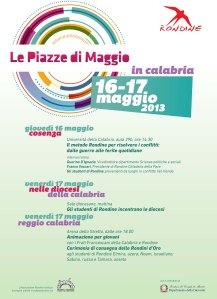 Locandina Piazze di Maggio Calabria